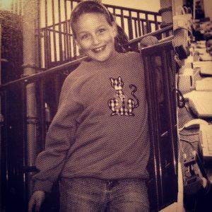 Third grade in my Kelly's Kids sweatshirt :)